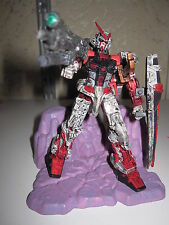 GUNDAM ASTRAY FRAME BANDAI 2004 REAL WITH ROCKS AVEC DECOR INTROUVABLE RARE !