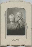 Antique Photo - Grand Island Nebraska - Older Couple