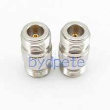 N female jack to N female jack Straight RF Connector Adapter