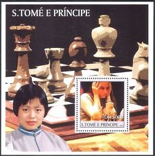 Sao Tome 2003 CHESS/Board Games/Sports/People/Personalities 1v m/s (s6340)