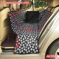 Oxford Waterproof Pet Cat Dog Back Car Seat Cover Hammock NonSlip Protector Mat