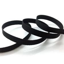 """5Yards 3/8"""" 10mm Grosgrain Ribbon Hair Bow Wedding Decoration DIY Sewing #CA"""