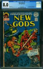 NEW GODS OWW PAGES CGC 8.0 1ST STEPPENWOLF A9