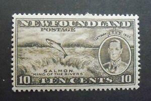 Newfoundland Stamps 1937 SC#237 Mint HR OG