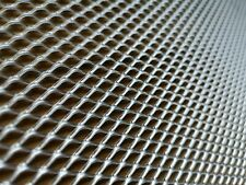 Expanded Metal. 10mm x 6mm x 0.90mm ALUMINIUM - Raised Mesh