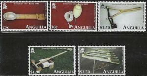 Anguilla Scott 1011-5 MNH LotBDP14556
