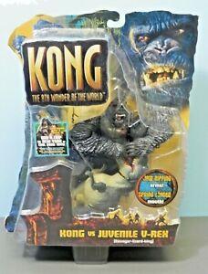 2005 Playmates Kong Vs. Juvenile V- Rex 8th Wonder Of World MOC Rare