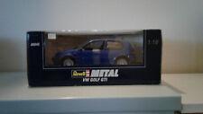 1:18 REVELL VW GOLF GTI BLU IN SCATOLA
