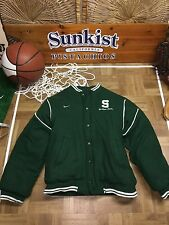 MSU Michigan State Spartans Nike Youth Large Full-Zip REVERSIBLE Jacket inv #38