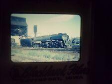 Commercial Slide Train RR NE Sidney Big Boy Challengers 4-6-6-4 depot 3710 coal