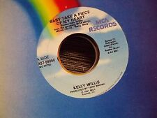 "KELLY WILLIS Baby Take A Piece Of My Heart/Standing By The River 7"" 45 country"