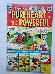 Archie as Pureheart the Powerful #3 (Feb. 1967, Archie) [VG+ 4.5]