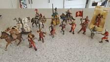 Schleich knights collector figures bundle