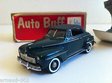 Auto Buff (USA) - Ford Deluxe Convertible 1948 (1/43)
