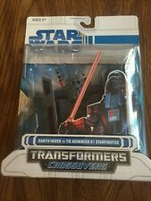2008 Star Wars Transformers Darth Vader To Tie Advanced X1 Starfighter
