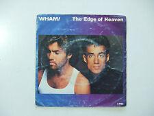 Wham! – The Edge Of Heaven - Copertina Per Disco Vinile 45 Giri