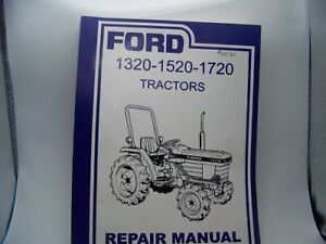 Ford Tractor 1320 1520 1720 Tractors Repair Manual
