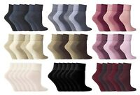 Jennifer Anderton - 6 Pack Womens Thin Color Turn Over Top Low Cut Ankle Socks