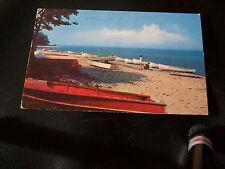 Vintage Postcard- Enjoying Boating? Lake Erie, Geneva, Ohio