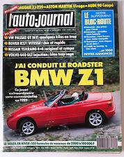L'AUTO-JOURNAL du 11/1988 Essais BMW Z1/ Passat GT 16 V/ Rover 827i/ Tarrano