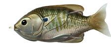 Live Target Sunfish Hollow Body SFH90T560 Olive Metallic Bluegill Topwater Lure