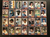 1981 Topps BOSTON Red Sox Complete Team Set RICE Carl YASTRZEMSKI Carlton FISK