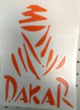 KTM DAKAR rear window sticker car,boat,racing