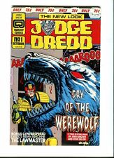 Judge Dredd (vol 2) 1. Quality Comics 1986 - VF / NM