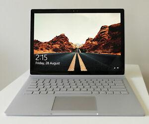 "Microsoft Surface Book 1 13.5"" 3K touch i5-6300U/512GB SSD/8GB RAM/Bag/Warranty"