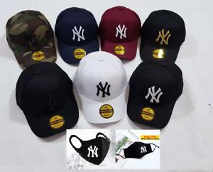 New Unisex Golf NY New York Yankees Mens Womens Adjustable Baseball Cap Hats