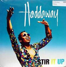 "Haddaway - Stir It Up 12"" VG+ Promo 07822 12699-1 Downtempo Euro House 1994"
