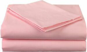Pink Solid Bed Skirt Select Drop Length All US Size 1000 TC Egyptian Cotton