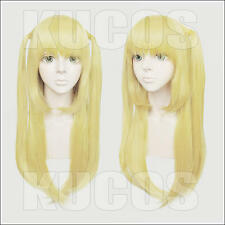 Death Note Amane Misa Anime Costume Cosplay Wig + Track NO + Cap