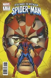 PETER PARKER THE SPECTACULAR SPIDER-MAN #1 1:25 CASSADAY VARIANT COVER! (2017)