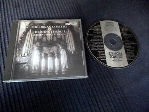 CD Organ Orgel Orgue Holmens Church Kirke Kirche Kobenhaven DENON Japan (1983)
