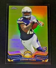 2013 TOPPS CHROME KEENAN ALLEN RC BLACK REFRACTOR #/299 CHARGERS #14