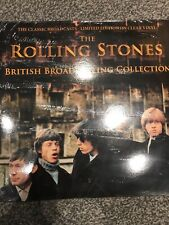 THE ROLLING STONES - THE BRITISH BROADCASTING COLLECTION LTD ED ON CLEAR VINYL