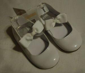 Gymboree Size 10 White  Dress Shoes NWT Easter