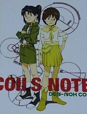 DEN NOH COIL Animation Staff Illustration art book COILS NOTE Dennou Coil