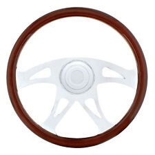 "18"" Chrome ""Boss"" Steering Wheel for International Trucks"
