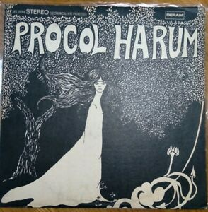 Procol Harum Self Titled S/T LP Vinyl Deram Stereo DES18008 ORIG 1967