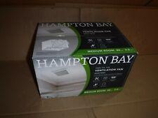 BRAND NEW SEALED HAMPTON BAY 80 CFM CEILING BATHROOM EXHAUST FAN 1004 156 168