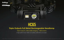 Nitecore HC65 Cree XM-L2 U2+CRI+RED LED 1000lm USB Rechargeable Head Torch