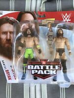 DANIEL BRYAN + AJ STYLES WWE Mattel Battle Pack Series 64 Figures w Belt DMG PKG