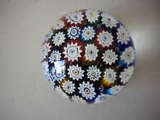 Star Shape  PAPERWEIGHT Glass with bubbles