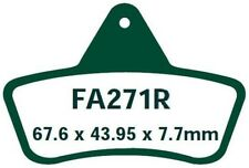 EBC PASTILLAS FRENO fa271r PARA ARCTIC CAT 250 (2x4) 99-00
