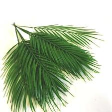 Artificial Palm Leaves 45cm - Plastic Fern Cycas Pack of 12