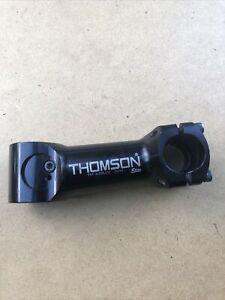 "Thomson Elite Alloy Bike Stem 25.4 x 110mm +/-5º Black 1 1/8"" MTB SM-E102 XC"