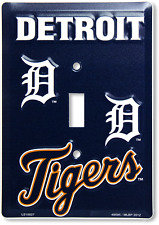 Detroit Tigers Switch Plate Light Switch Cover Made in the USA FAST USA SHIPPING