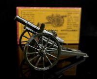 Vintage c1930's Britains lead toy Artillery gun